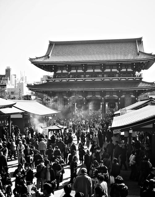 Senso-ji Tempel Asakusa Japan
