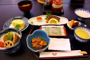 Frühstück Ryokan Fisch