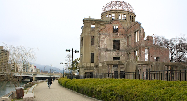 Hiroshima Japan A-bomb dome