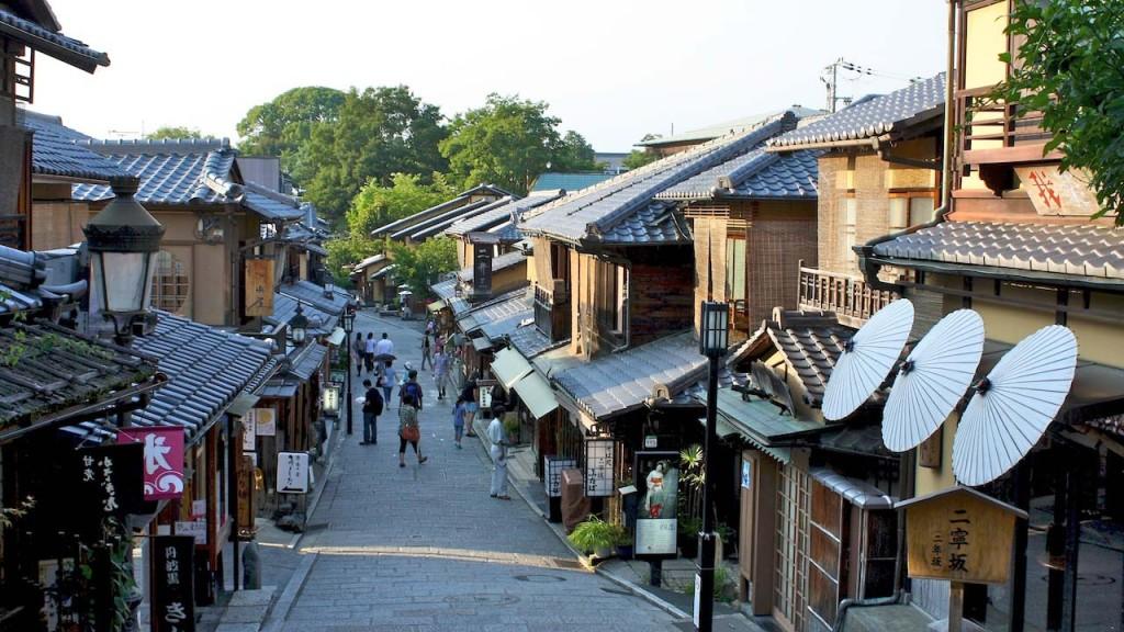 Nach Kyoto reisen heisst Zeitreisen