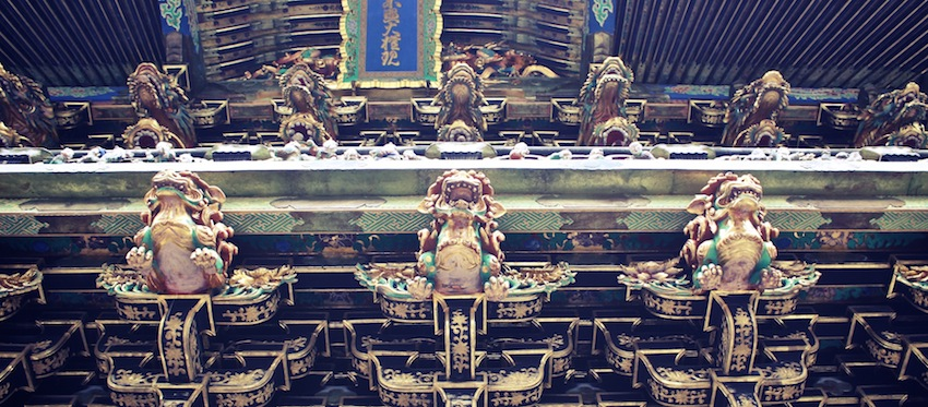 Nikko Japan Toshogu Schrein