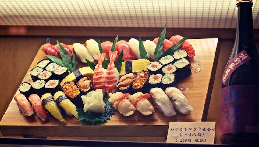Japanisches Essen Plastik