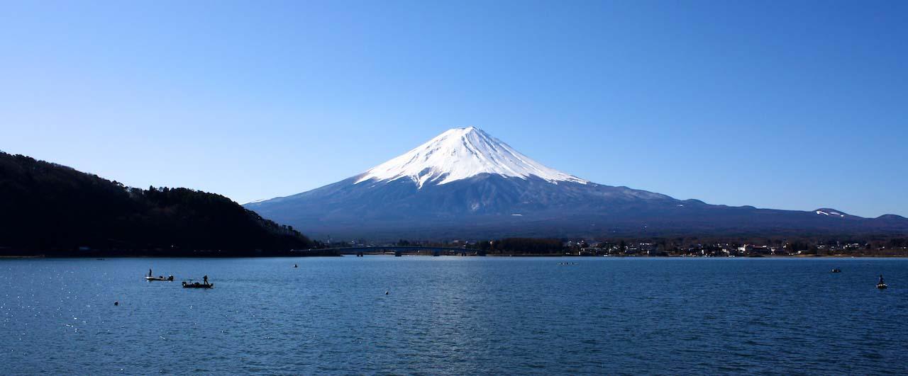 Japans Symbol Mount Fuji