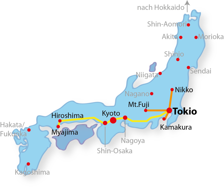 Japan Rundreise 1 Woche