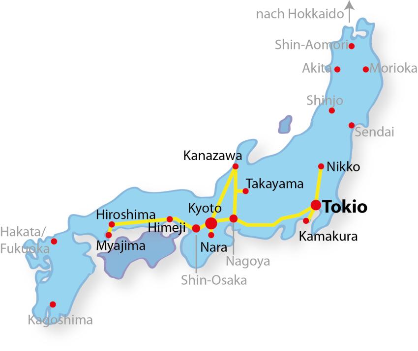 Japan Rundreise 2 Wochen