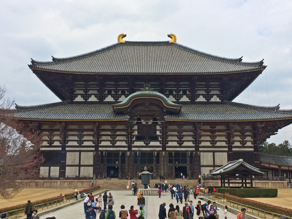 Todaiji Nara Japan Buddha