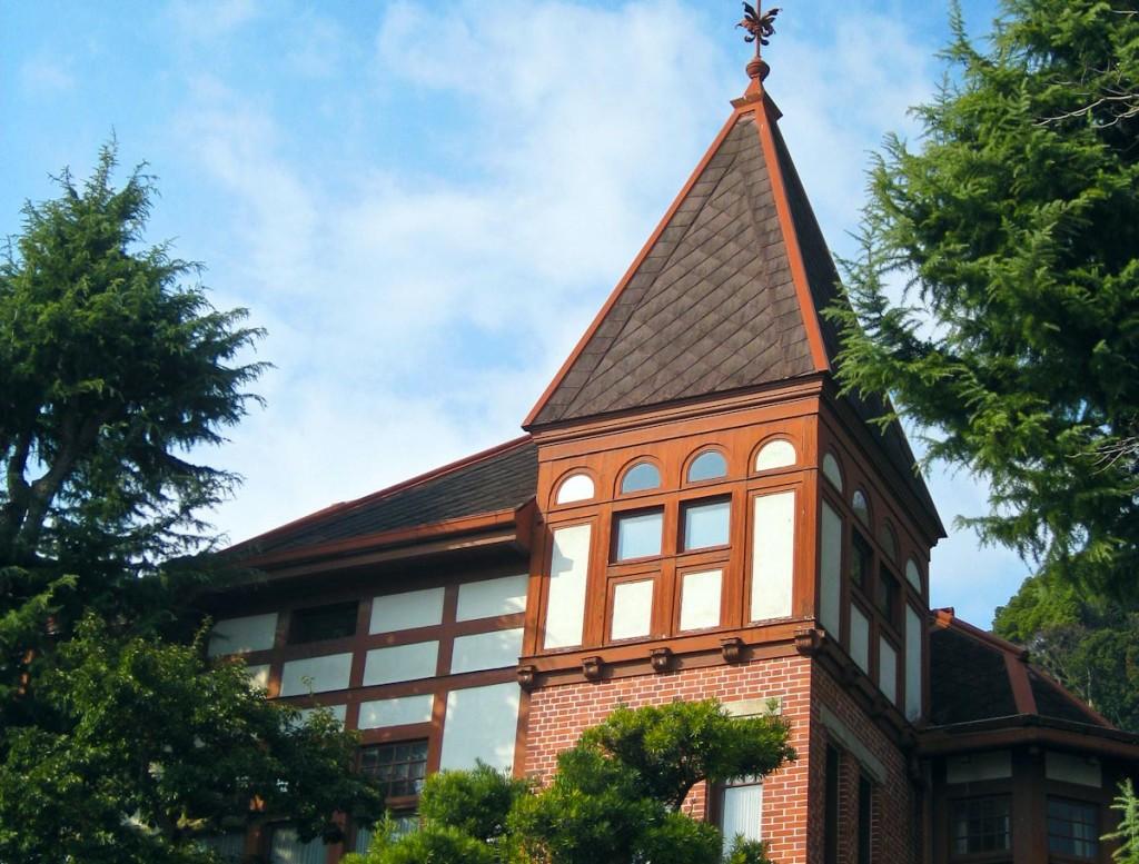 Westliche Gebäude Kobe Japan